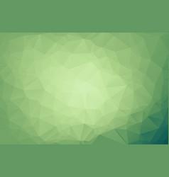 abstract light green shining triangular vector image
