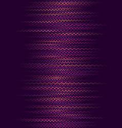 Background with purple horizontal wavy lines vector