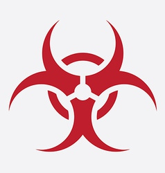 Biohazard design vector