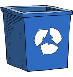 box recycling garbage vector image
