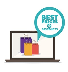 Cyber Monday design vector image