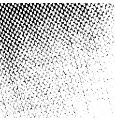 Distressed halftone texture vector