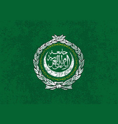 flag of the arab league vector image