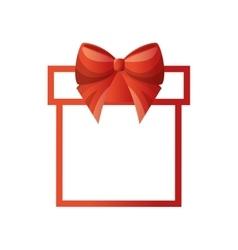 Happy merry christmas gift vector