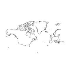 North atlantic treaty organization nato member vector