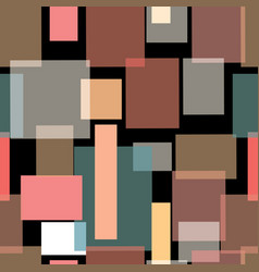 overlapping rectangles vector image