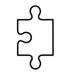 Puzzle piece icon game design graphic vector