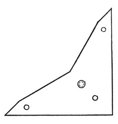 Zange triangle corresponding angle in the other vector