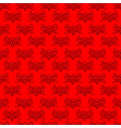authentic rococo vector image vector image