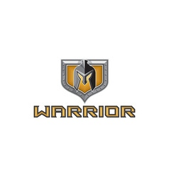 Spartan Warrior Helmet Shield Retro vector image