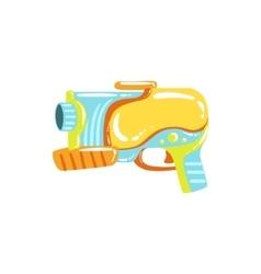 Colorful Fantastic Water Pistol vector image
