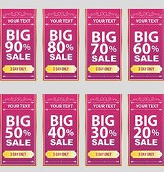 big sale Big Sale Best offer badge sticker vector image
