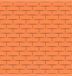 Ceramic orange brick tile wall eps vector