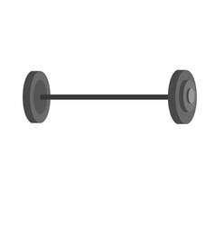 dumbbell fitness tool to do exercise and training vector image