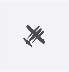 Hydroplane icon vector