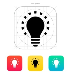 Less light icon vector