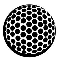 golf ball icon icon cartoon vector image vector image