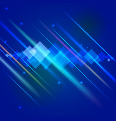 abstract bright motion background with blurred vector image vector image