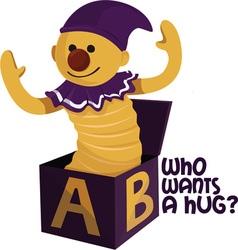 Want A Hug vector image vector image