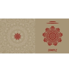 Wedding invitation card liginoru vector image vector image