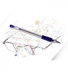 engineering concept vector image vector image