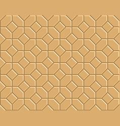3d pathway pattern vector