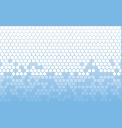 background hexagon element future geometric vector image