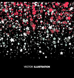 background with stars abstract vector image