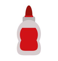 Glue bottle isolated vector