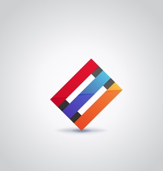 Logo abstract2 vector