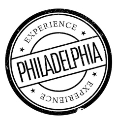 Philadelphia stamp rubber grunge vector