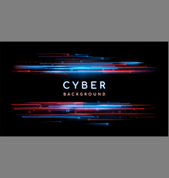 sci fi digital futuristic background vector image