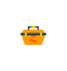 tool box icon flat element of vector image