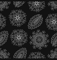 folk pattern-03 vector image vector image