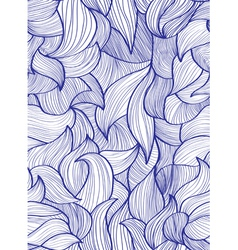 abstract hair vector image