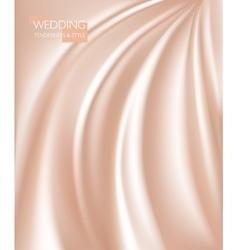 smooth elegant luxury cream vector image