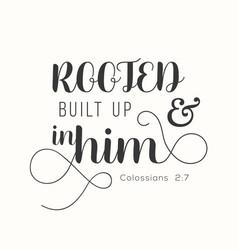 Bible verse for encourage vector