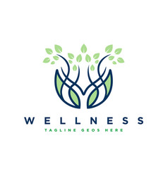 body health and fitness logo design vector image