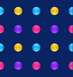 colorful of circle pattern texture background vector image
