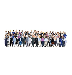 Group of man vector image