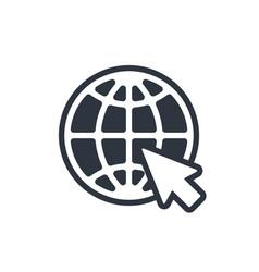 Web icon website pictograph internet symbol vector