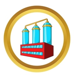 Wort preparation icon vector
