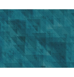 abstraction retro triangles background vector image