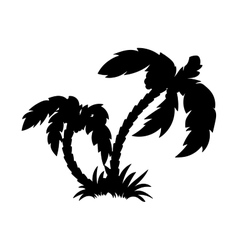 PalmsIsolated vector image