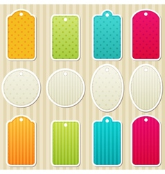 Tags vector image