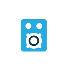 Amplifier colorful icon symbol premium quality vector