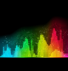 background abstract technology communication wave vector image