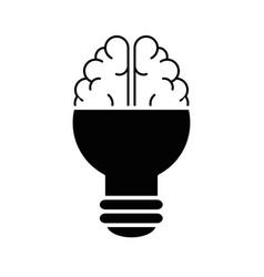 Bulb icon image vector