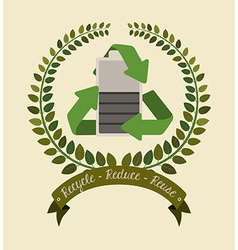 Environmental campaing design vector
