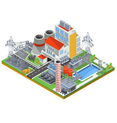 Isometric of a nuclear power vector